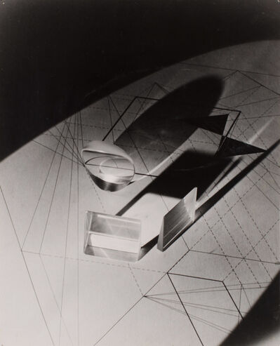 Gyorgy Kepes, 'Light and line pattern', 1940