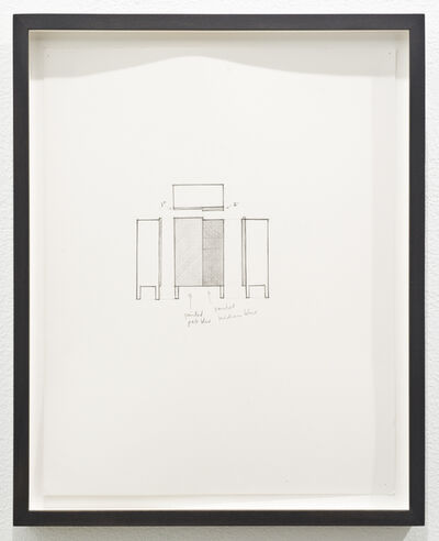 Roy McMakin, 'Untitled (chest)', 2012