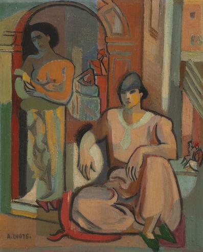 André Lhote, 'Deux femmes dans la casbah d'Alger', Unknown