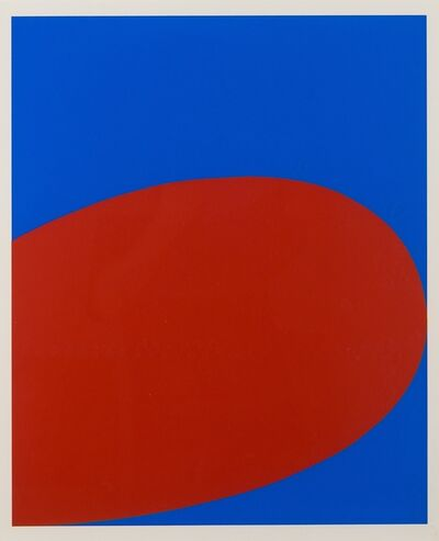 Ellsworth Kelly, 'Red and Blue', 1964