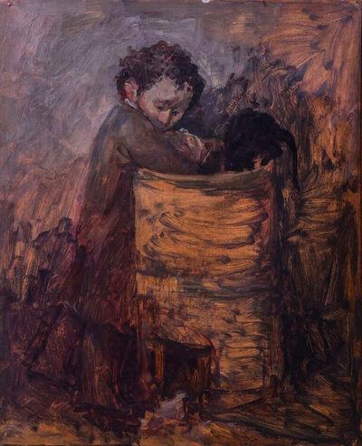 Afifa Aleiby, 'Destitute Child', 1977