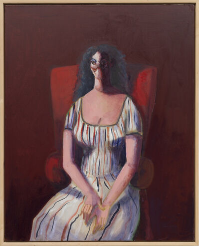 George Condo, 'Woman On Red Chair', 2007