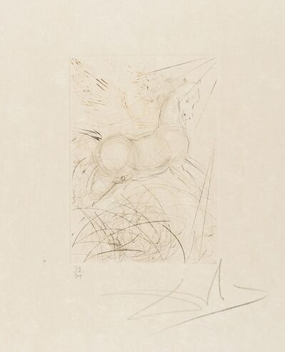 Salvador Dalí, 'Pegasus (from Quinze Gravures) (M&L 291b; Field 68-4-A)', 1968