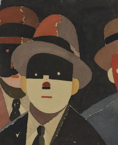 Eduardo Arroyo, 'Brelan', 1983
