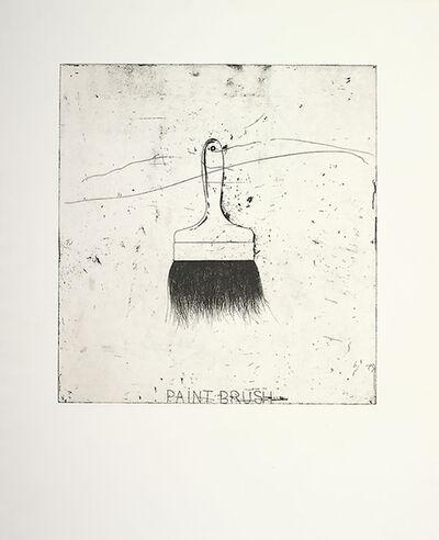 Jim Dine, 'Paintbrush', 1971