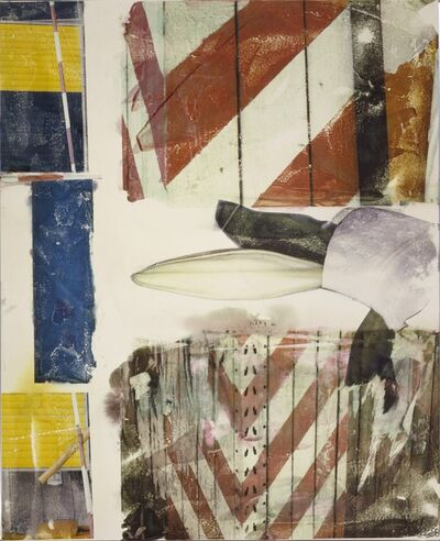 Robert Rauschenberg, 'Early Bloomer [Anagram (A Pun)]', 1998