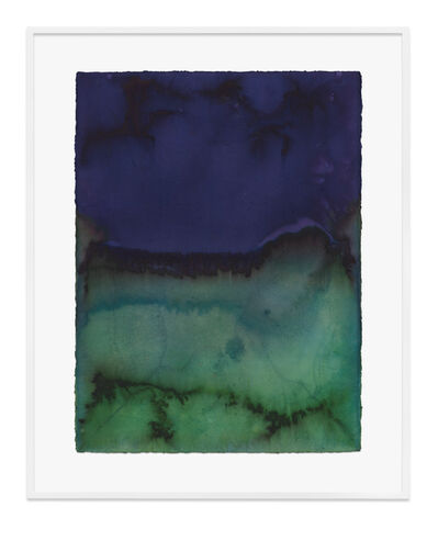 Jason Martin, 'Untitled (Dioxazine mauve)', 2020