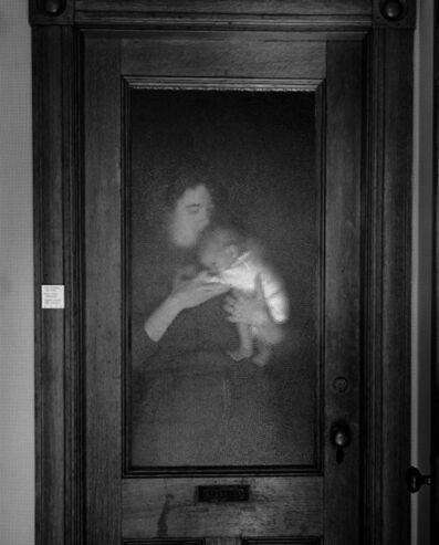 Abelardo Morell, 'Lisa and Brady Behind Glass', 1986