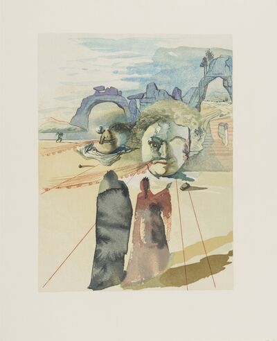 Salvador Dalí, 'La Divine Comédie (The Divine Comedy) (Michler & Löpsinger 1039-1138)', 1960
