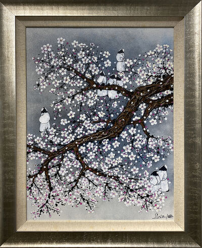 Sanzi 散子, 'Playful Plum 梅花弄', 2015