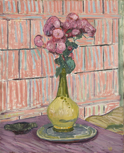 Cuno Amiet, 'Les roses rouges', 1908