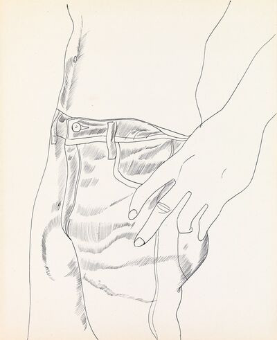 Andy Warhol, ' Untitled (Hand in Pocket)', 1956