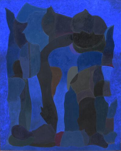 Luis López Loza, 'Forma azul bajo el agua', 2015