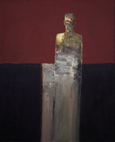Dan McCaw, 'Figure with Red Background', 2021