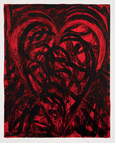 Jim Dine, 'The Red Talisman', 2018