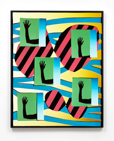 Hannah Whitaker, 'Five Hands 1', 2017