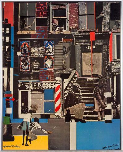 Romare Bearden, 'FORTUNE COVER', 1968