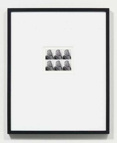 Stephanie Syjuco, 'Applicant Photos (Migrants) #1 - 3', 2017