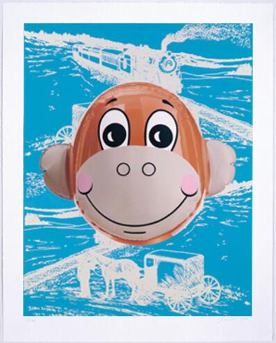 Jeff Koons, 'Monkey Train (Blue)', 2007