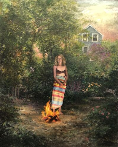 Scott Prior, 'Nellie In Firelight', 2020