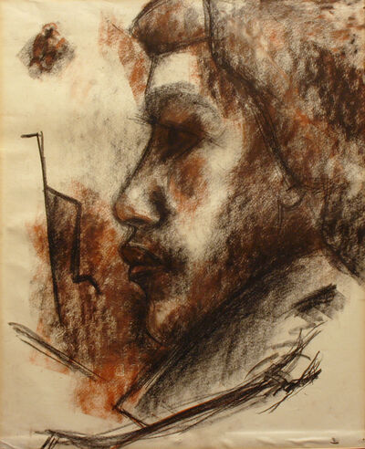 Ted Godwin, 'Portrait Study (Cost House Thurs Life Group)', 1951