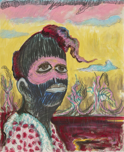 Simphiwe Ndzube, 'Untitled Portrait #3', 2019