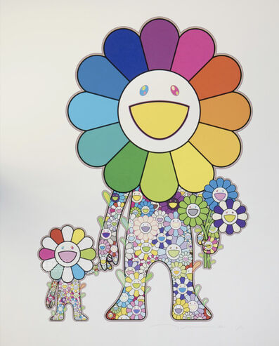 Takashi Murakami, 'FLOWER PARENT AND CHILD', 2021