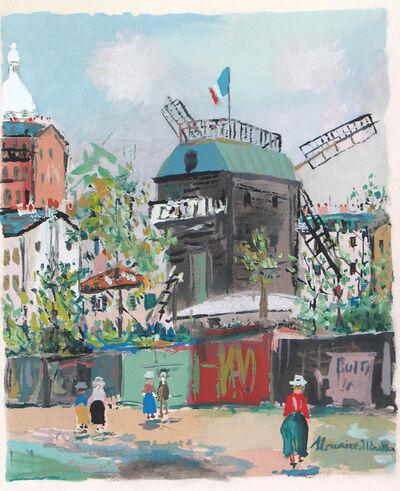 Maurice Utrillo, 'Le Moulin de la Galette', 1950