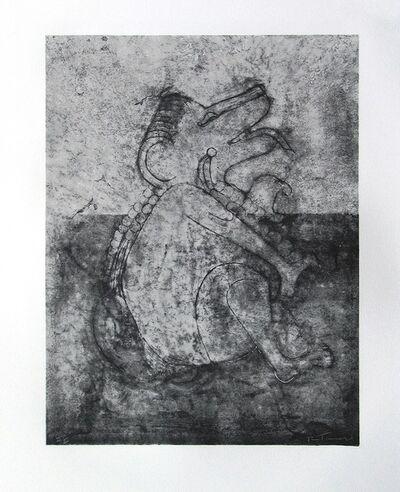 Rufino Tamayo, 'Prehispanic dog', 1990