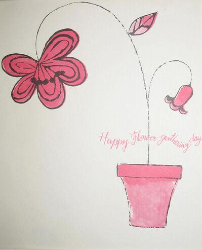 Andy Warhol, 'Happy Flower Gathering Days', ca. 1963