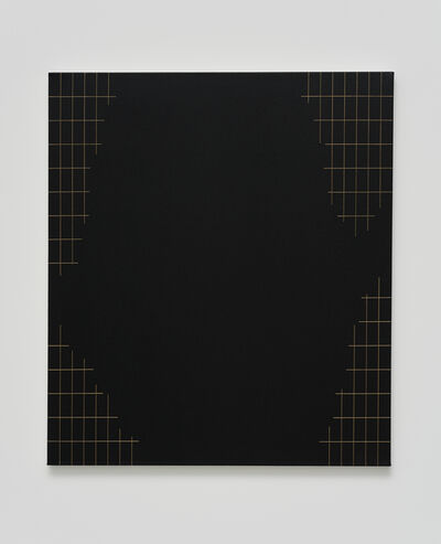 Valdirlei Dias Nunes, 'Sem título (grade com grande recorte) [untitled (grid with large trim)]', 2017
