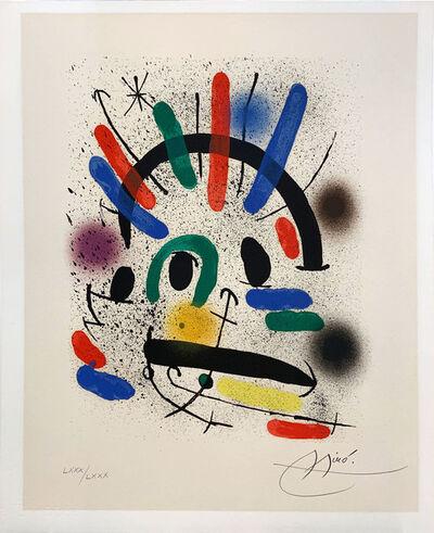 Joan Miró, 'Miro Lithographe I planche 3', 1972