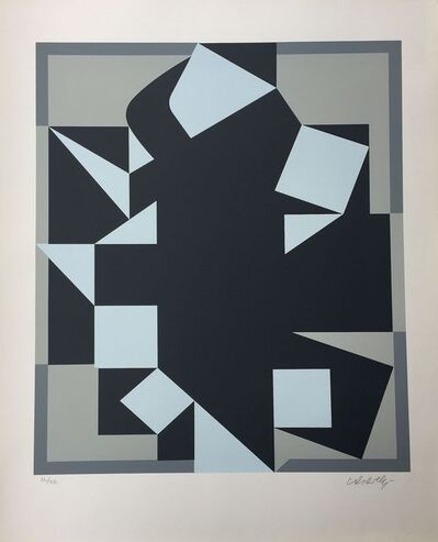 Victor Vasarely, 'Orgovan', 1984