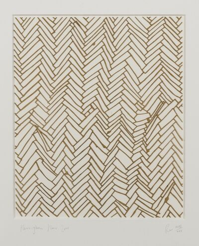 Rachel Whiteread, 'Herringbone Floor', 2001
