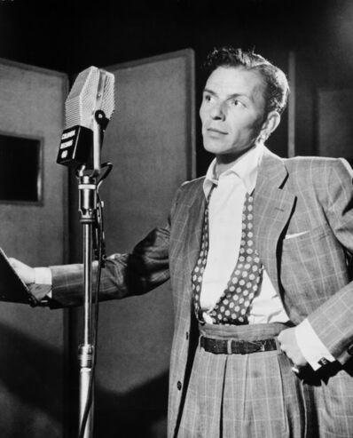 William Gottlieb, 'Frank Sinatra, Liederkrantz Hall, NYC'