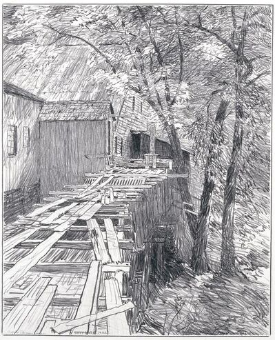 Bolton C. Brown, 'Shufelt's Mill', 1921