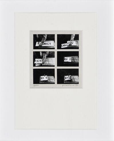 Sándor Pinczehelyi, 'Object', 1976