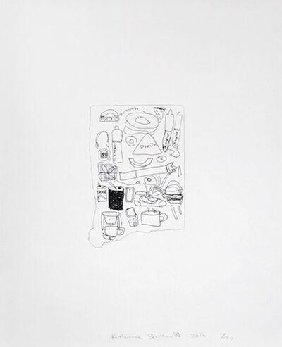 Katherine Bernhardt, 'Untitled ', 2016