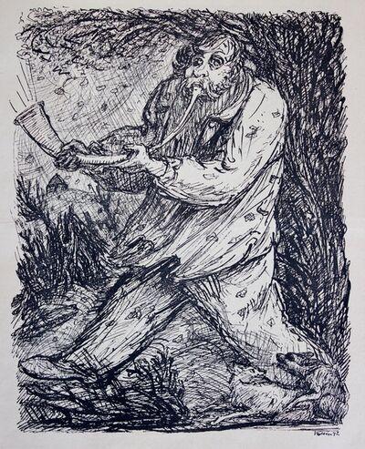 Alfred Kubin, 'Der Sturm', 1942