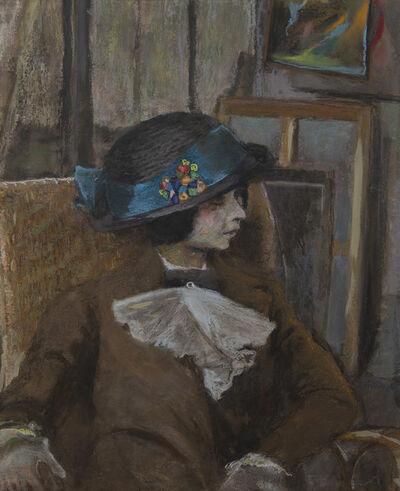 Édouard Vuillard, 'Le petit modèle au chapeau bulgare', 1912-1913