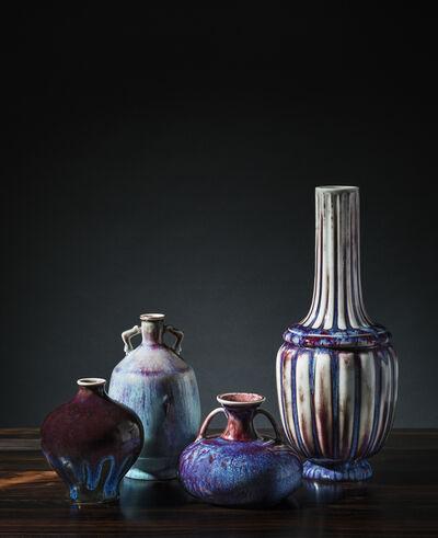Sèvres Porcelain Manufactory, 'Four vases', 1890-1903