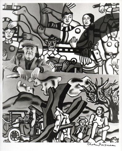 Robert Doisneau, 'Fernand Leger in his atelier of Gif-sur-Yvette, 1954', ca. 1989