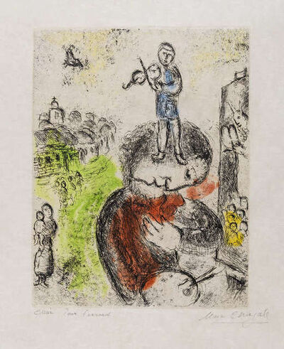 Marc Chagall, 'Musique', 1981