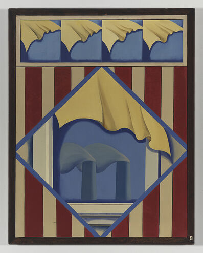 Sarah Canright, 'Wallpaper with View 1', ca. 1968