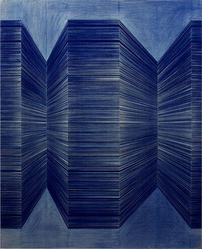 Anastasia Komarova, 'Pigment Painting 3', 2019