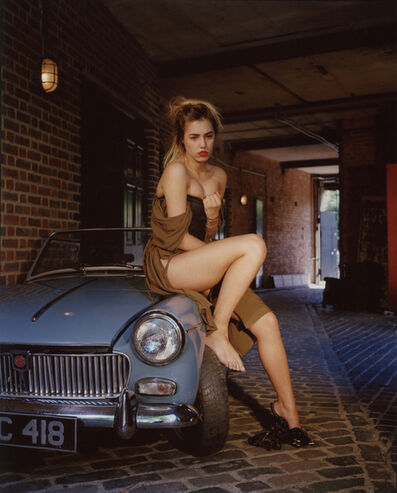 Bettina Rheims, 'Amber le Bon has Lost her Car Keys', 2013