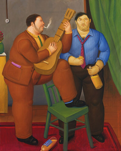Fernando Botero, 'Two Friends', 2012