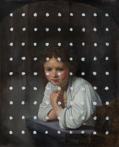 Martin La Rosa, 'Girl at a window. Cita con Rembrandt - 1ra versión', 2020