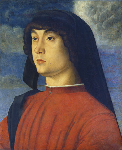 Giovanni Bellini, 'Portrait of a Young Man in Red', ca. 1480