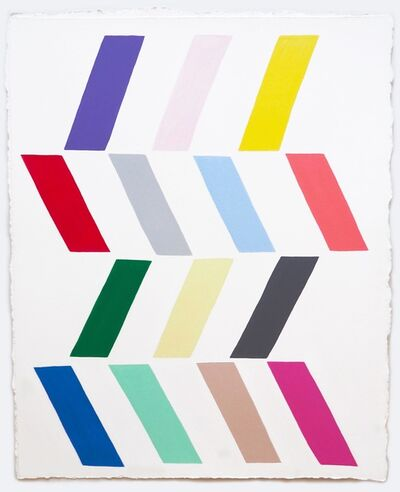 Jessica Snow, '14 Parallelograms', 2015